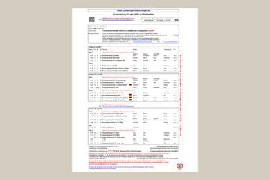 Zeiteinteilung CDN* 2021